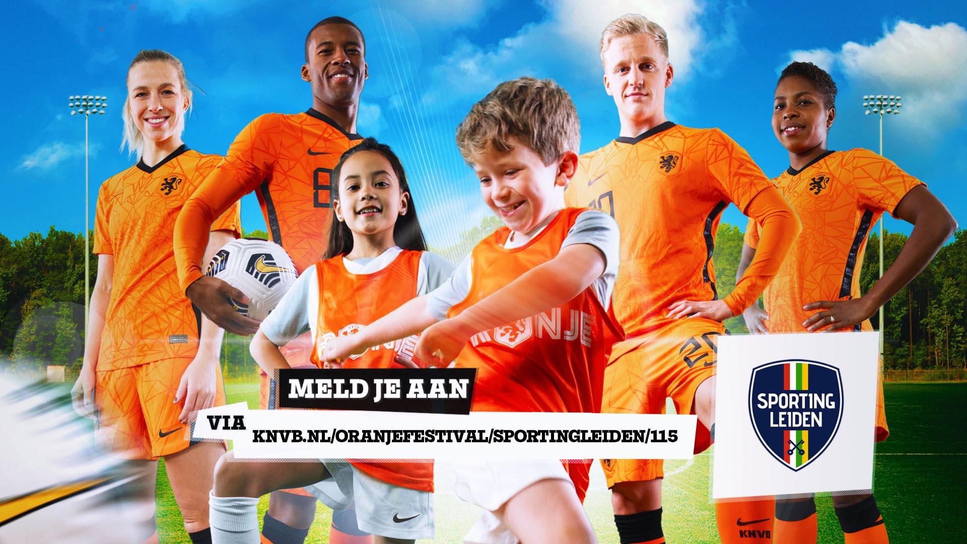 Oranjefestival Sporting Leiden